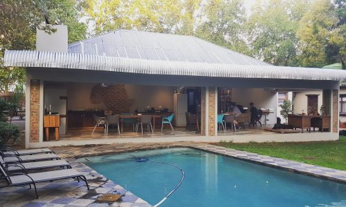 Pretoria Backpackers - Veranda