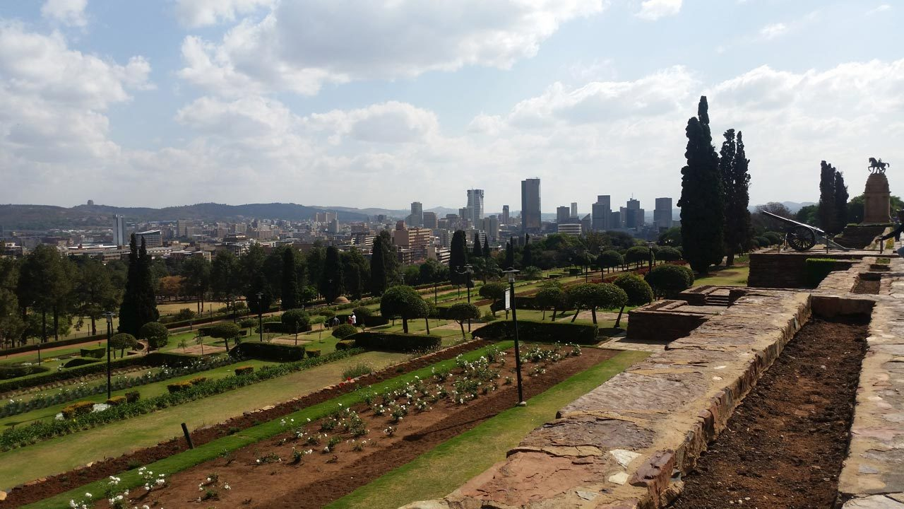 View over Pretoria from Union Buildings